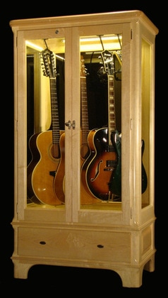 Charmant Access N Sight   Guitar Display Case Cabinets   Home