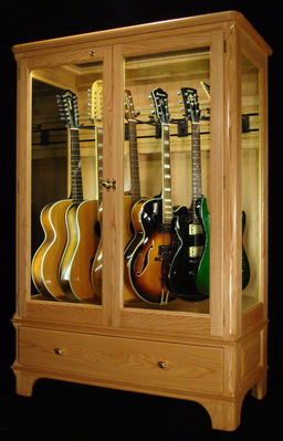 Incroyable Access N Sight   Guitar Display Case Cabinets   Home