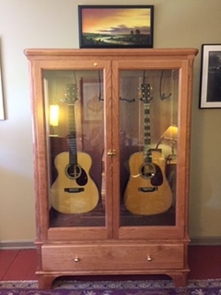 Just A Quick Note To Let You Know How Much I Appreciate Your Guitar Storage  Cabinet The Workmanship Is Outstanding I Was A Bit Skeptical At First When  I.
